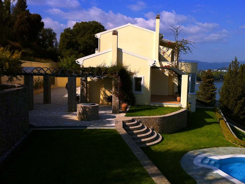 Corfu House Villa Construction