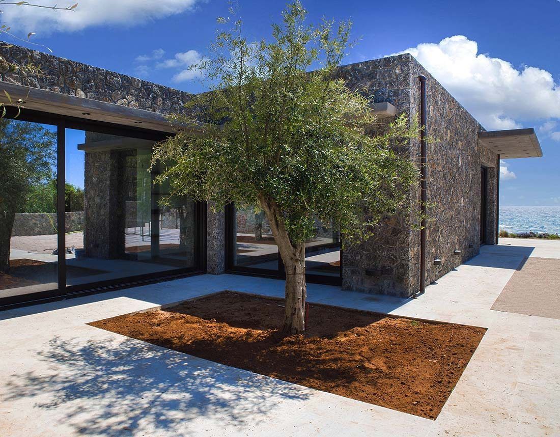 Corfu House Villa Construction